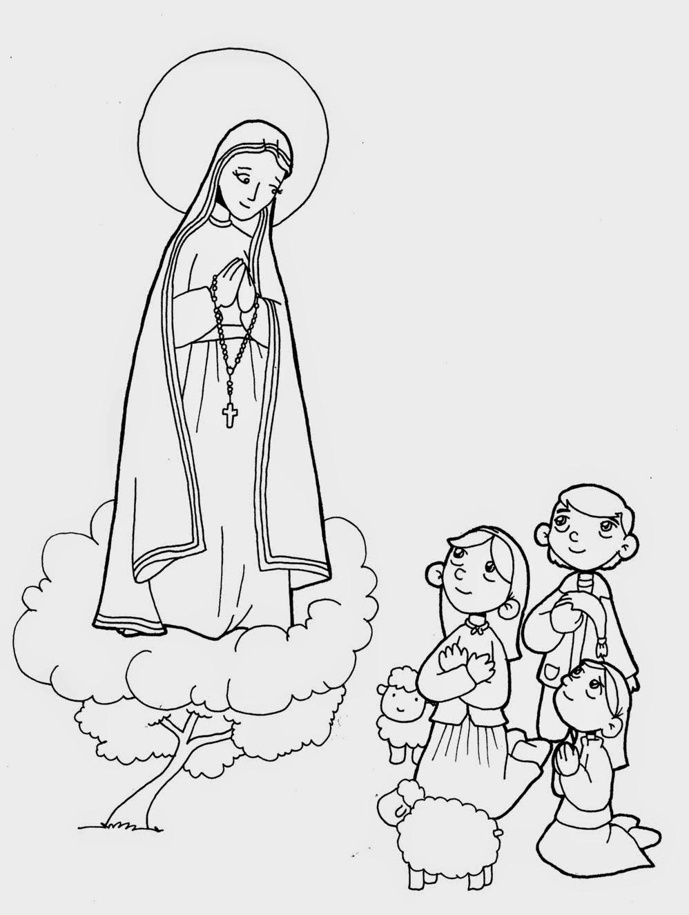 Mayo: Celebración de la Santísima Virgen de Fátima