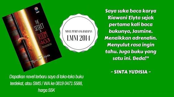 Novel Pemenang Harapan LMNI 2014