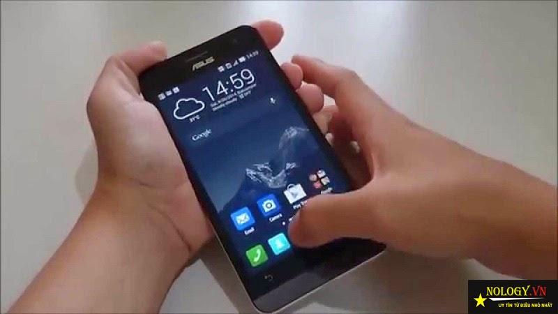 Asus ZenFone 5 - lỗi màn hình