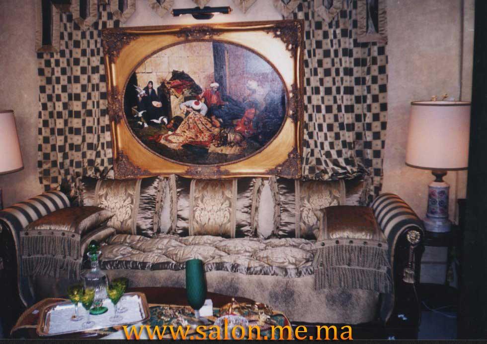 Salon Moderne Et Côté Marocain : Salon marocain décoration maison