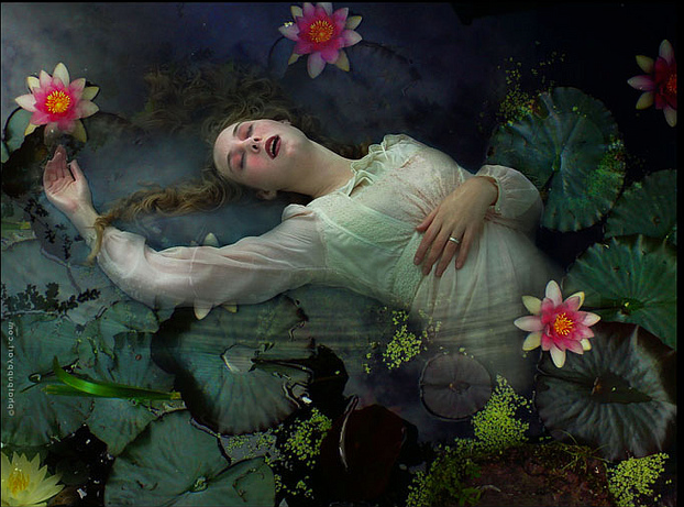 an analysis of ophelia's drowning a