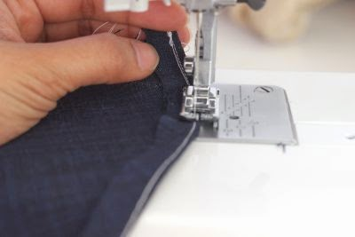 How to finish circle skirt hem by ironing