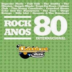 Cd Rock Anos 80 Internacional