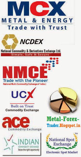 MCX, NCDEX, NMCE, UCEX, ACE and ICEX. NSEL