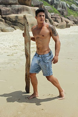 Ensaio na praia....!