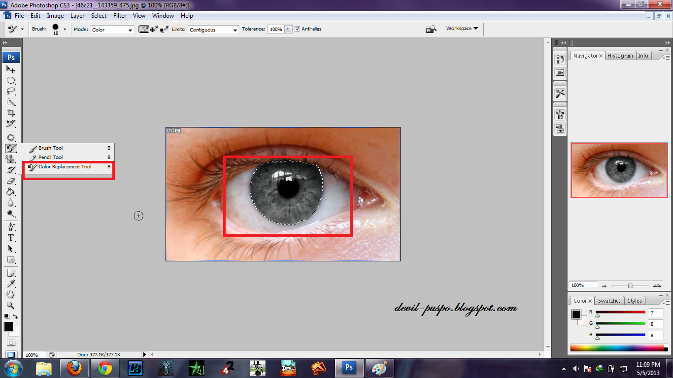 Фотошоп как сделать глаза разноцветными