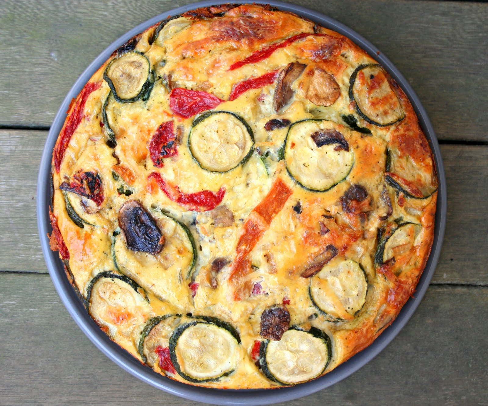 Summer Vegetable Torta Low Carb And Gluten Free