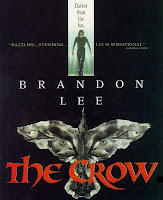 Capa do filme O Corvo (The Crow), com Brandon Lee