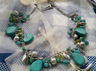world vision drops of turquoise necklace