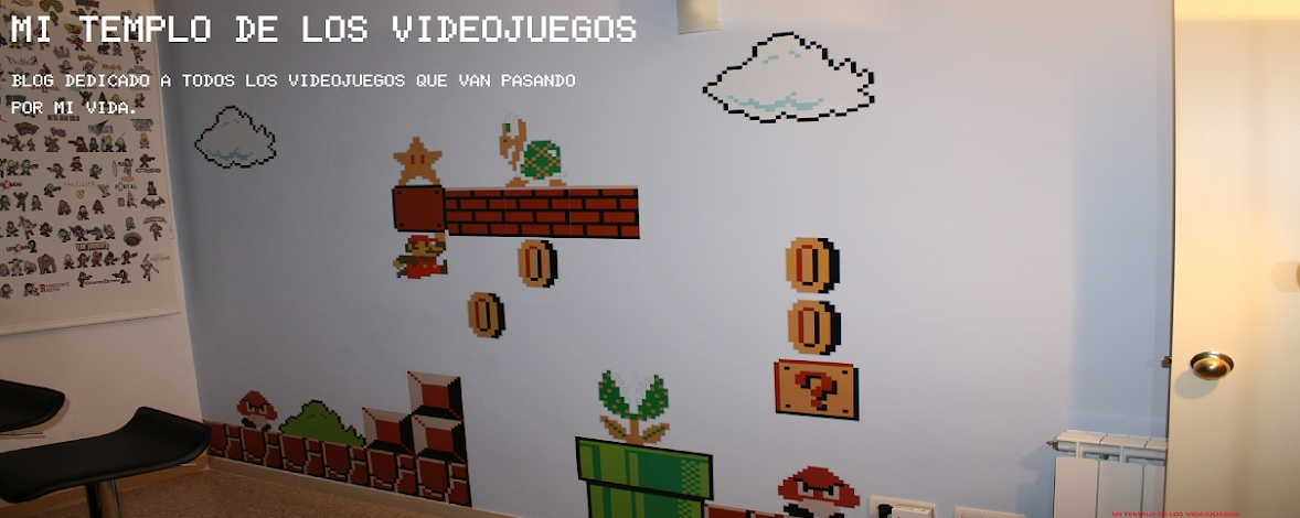 MI TEMPLO DE LOS VIDEOJUEGOS