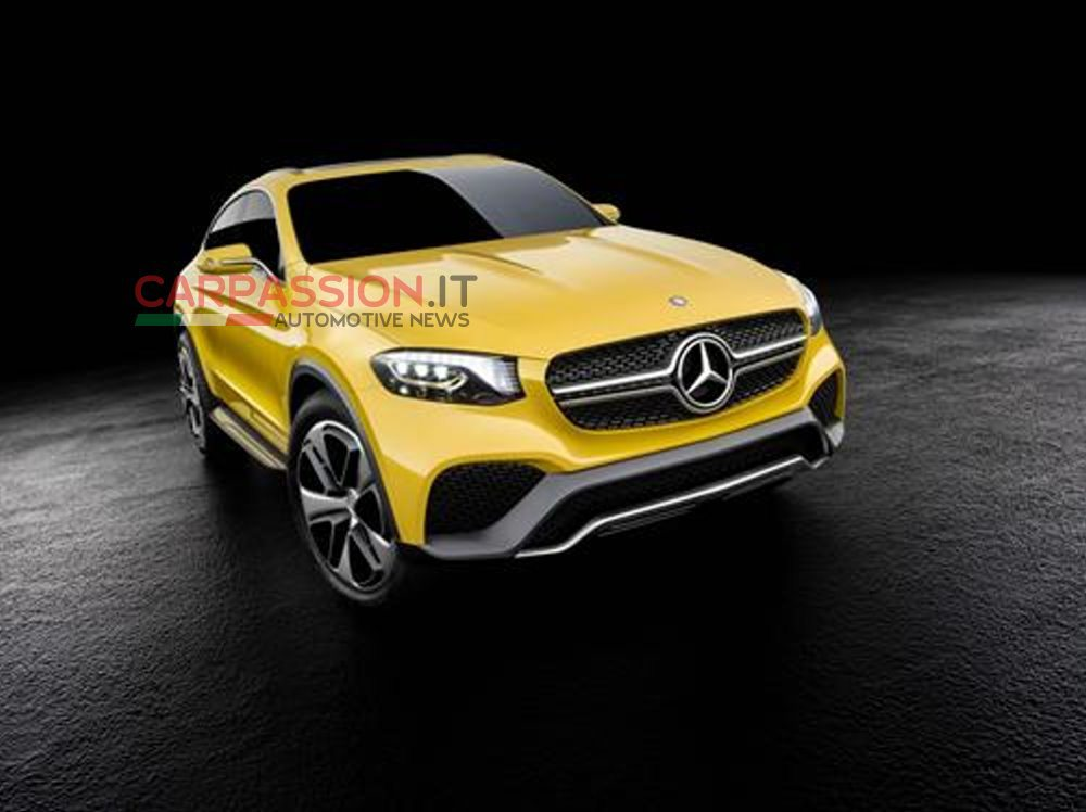 New mercedes benz glc coupe concept photos leaked for Mercedes benz coupe models