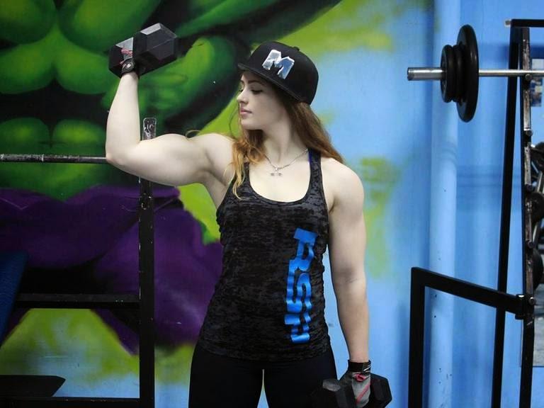 18-year-russian bodybuilder Vince Julia