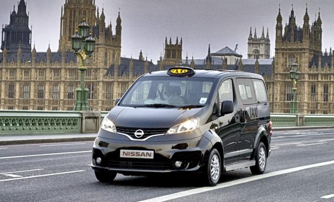 Nissan NV200 black cab