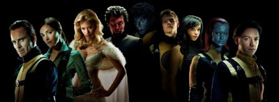 X Men First Class Cast shot.jpeg 550x202 - Primer trailer oficial de X-men First Class