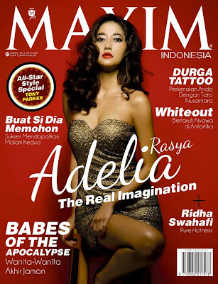 maret 2013 simak saja foto adelia model maxim indonesia maret 2013 di
