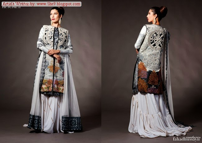 Fahad Hussayn Royal Bridal Wear 2014-2015
