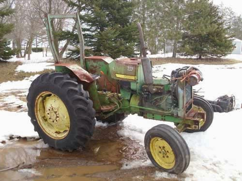 Used Tractor Parts Salvage Yards : All states ag parts news tractor salvage update