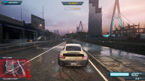 Screen Shot Of Need For Speed Most Wanted (2012) Full PC Game Free Download At worldfree4u.com