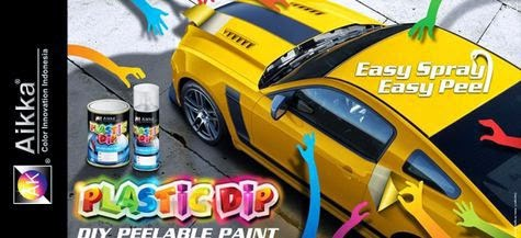 Replace cool car paint like a snake molting