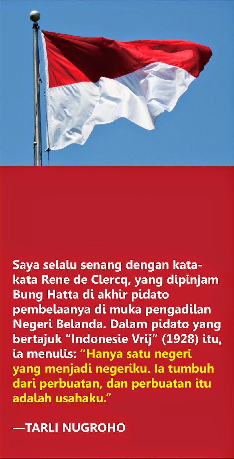 Mari, Melanjutkan Indonesia!