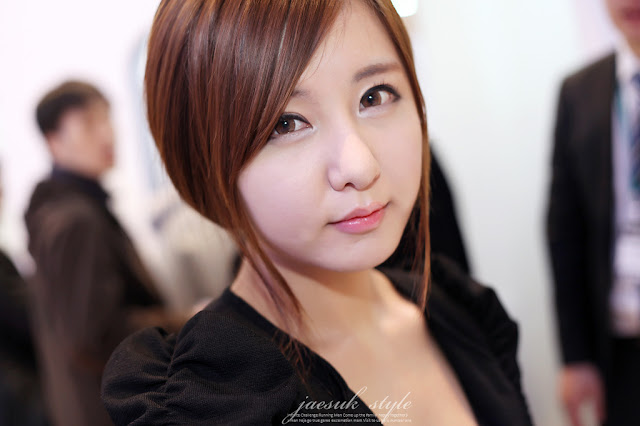 4 Ryu Ji Hye - SEMICON Korea 2012-very cute asian girl-girlcute4u.blogspot.com