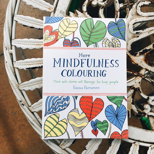 GET THE MORE MINDFULNESS COLOURING