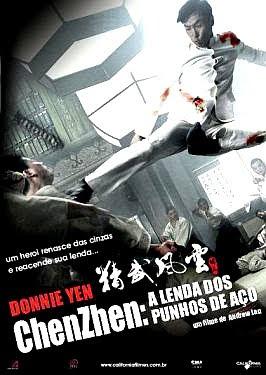 Filme Poster Chen Zhen - A Lenda do Punho de Aço DVDRip XviD Dual Audio & RMVB Dublado
