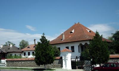 Nicolae Iorga Museum- main entrance, Valenii de Munte