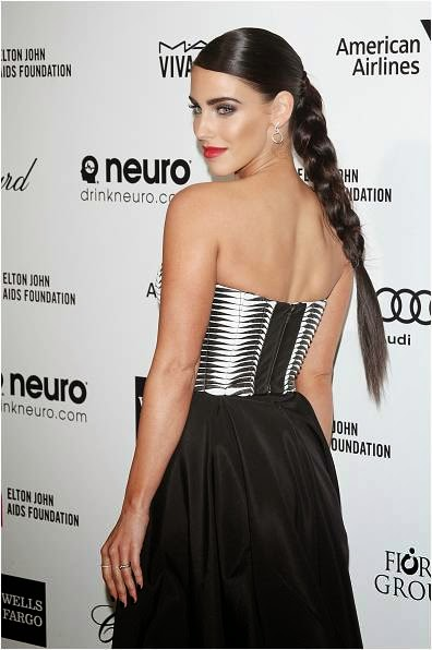 Jessica Lowndes in Tacori band at Elton John Party