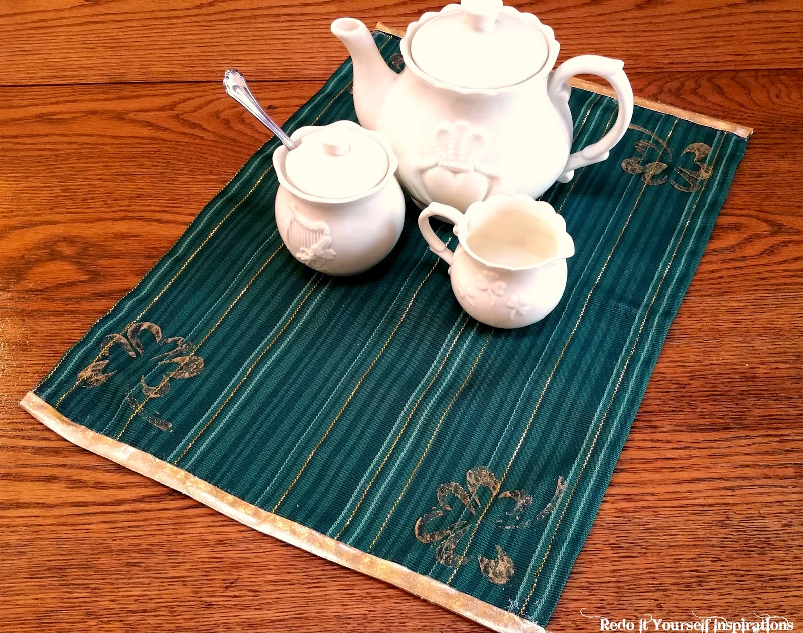 st patrick 39 s day placemats redo it yourself inspirations st patrick 39 s day placemats