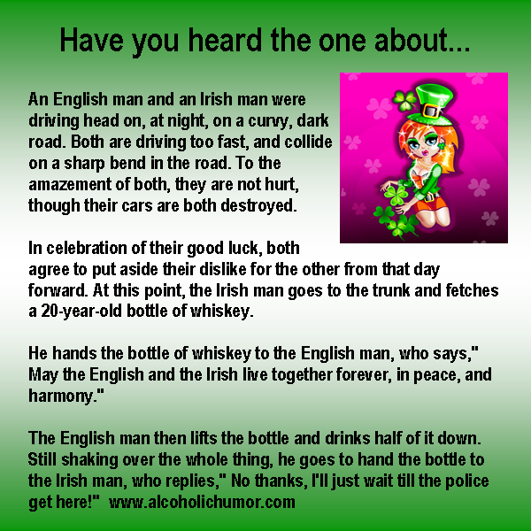 Irish Man Jokes | Kappit