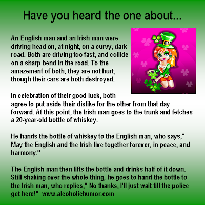 English Irish Car Accident Joke