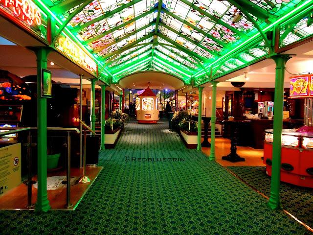 Games inside the Brighton Pier, Brighton, UK