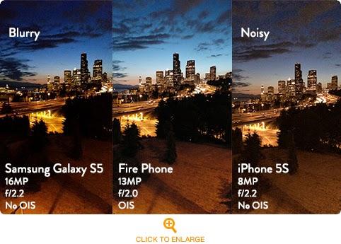 Amazon Fire Phone camera kamera