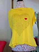 Heart Maze Tee