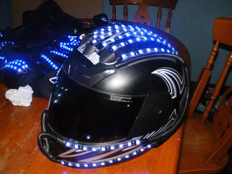 CASCO CON LED
