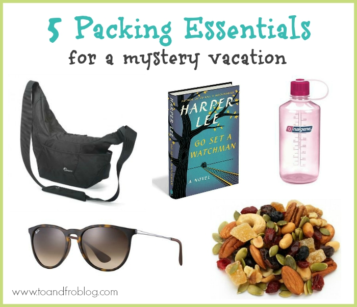 5 packing essentials