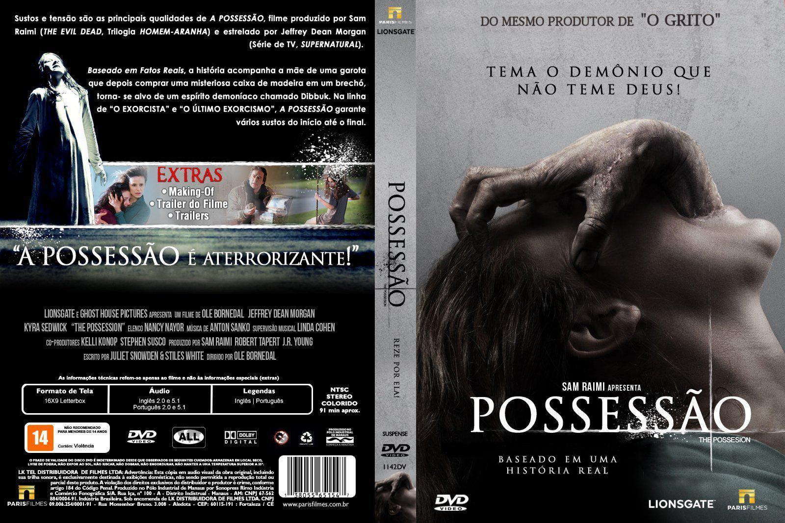 Possessão DVD Capa