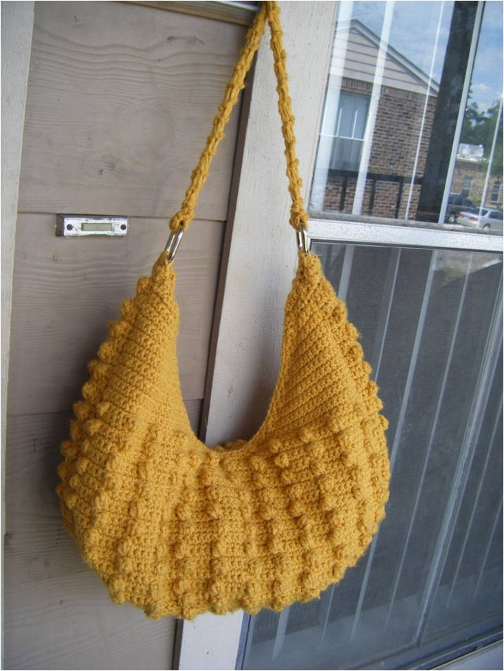Best Patterns: Natalia Hobo Crochet Tote Bag Pattern PERMISSION SELL ...