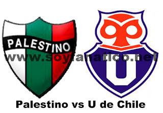 U de Chile vs Palestino 2015