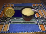 Receta del mousse de limón