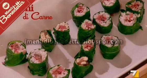 Sushi di Carne di Benedetta Parodi