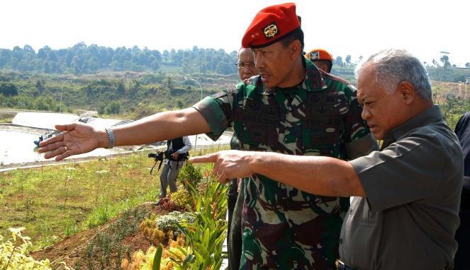 Menhan : Latihan Gabungan TNI Sebagai Pernyataan Perang Terhadap Teroris