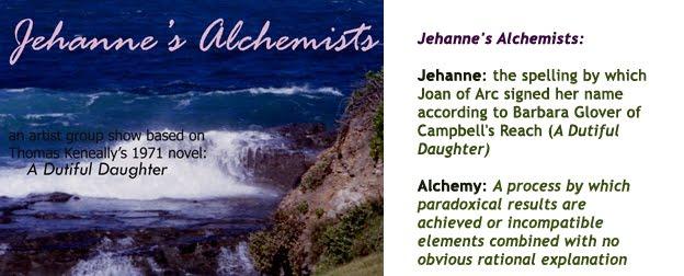 Jehanne's Alchemists - an artist group show