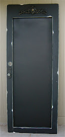 Magnetic Chalkboard Door (SOLD)