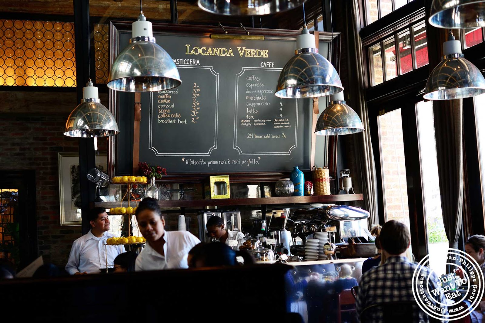 Brunch at locanda verde in tribeca nyc new york