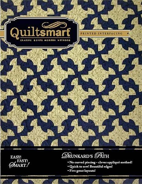 Quiltsmart Drunkard's Path quilt pattern