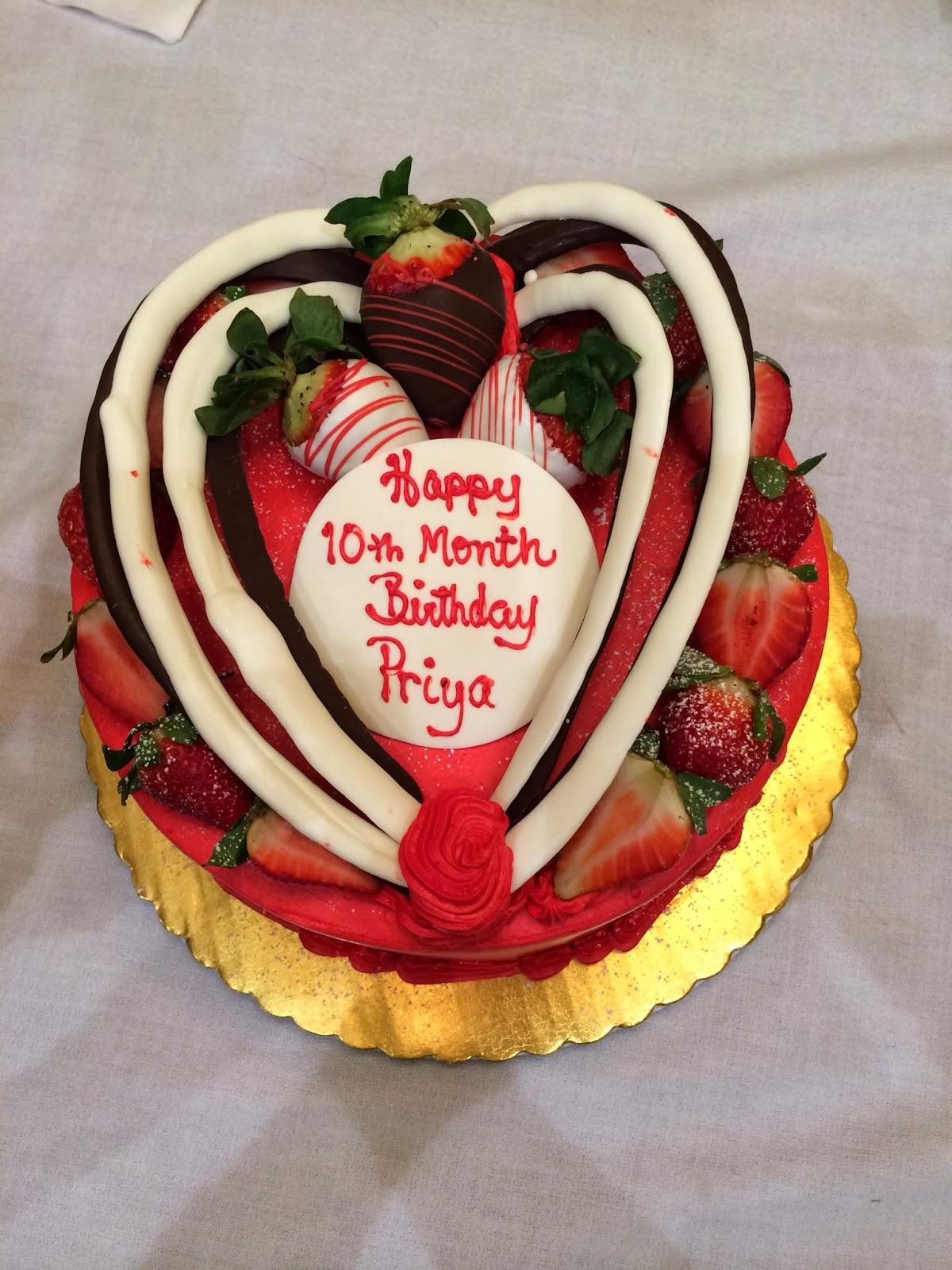 Cake Images For Priya : Vijay Madala, My Story: Priya 10th Month Pictures