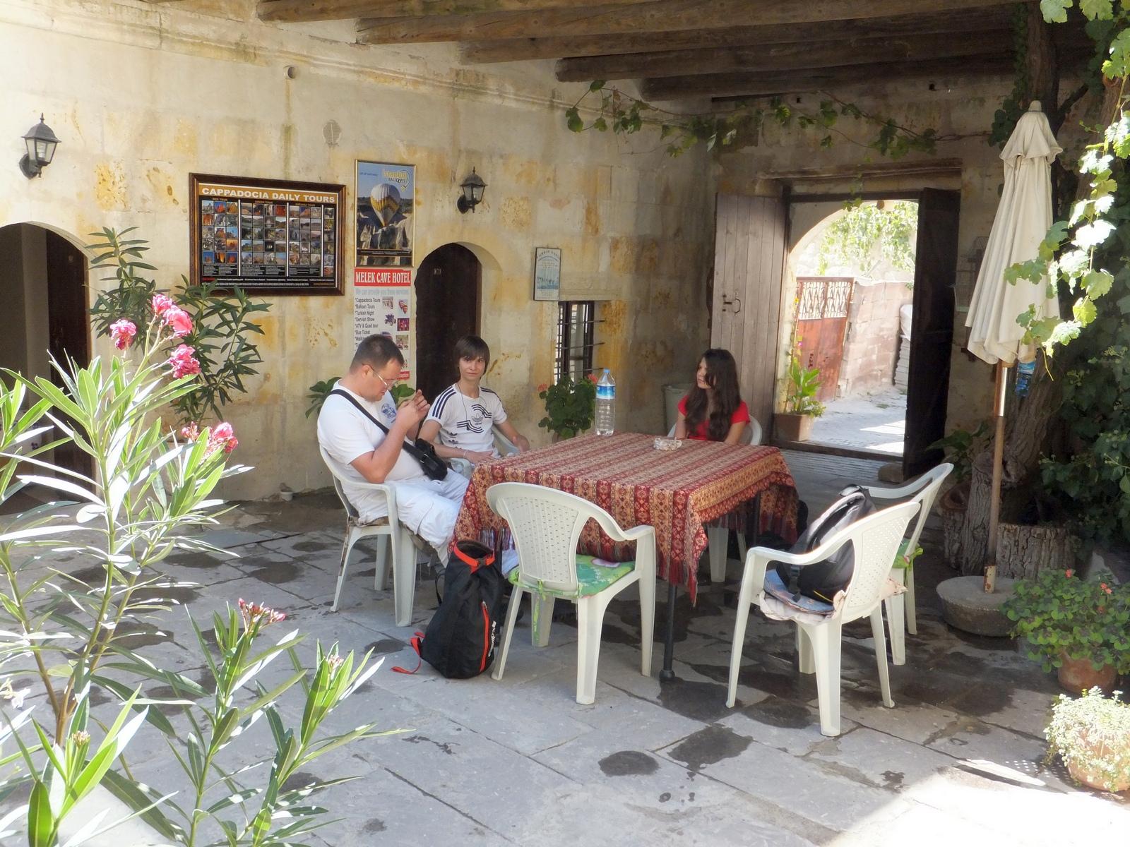 семейный отель в Каппадокии