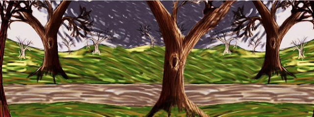 Gambar 2 - Sebagai background